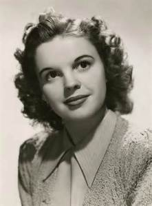 Judy Garland Teen Headshot