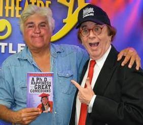 Jay Leno and Tommy Moore